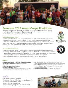Summer Associates flyer