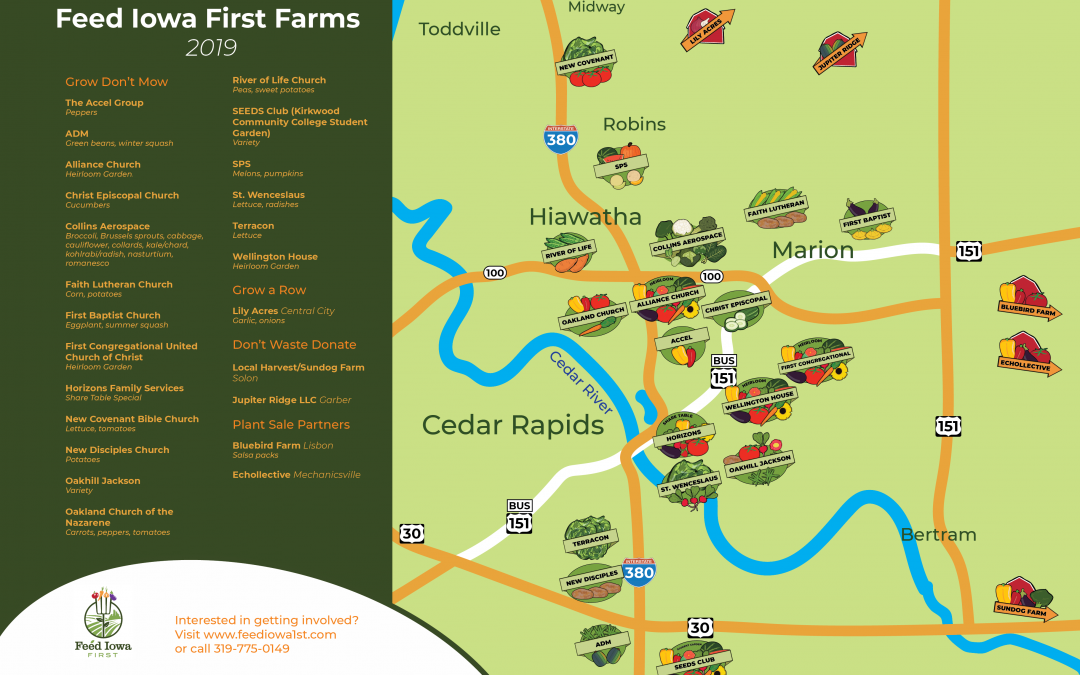 Feed Iowa First farm map 2019