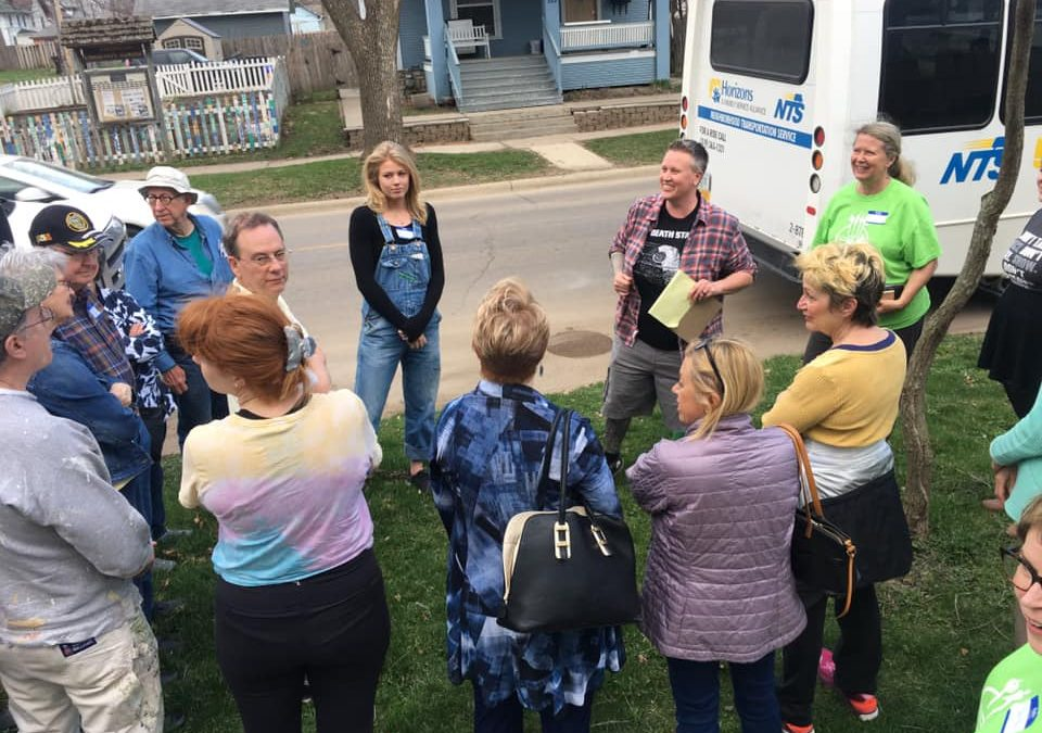 Feed Iowa First hosts first Bus Tour